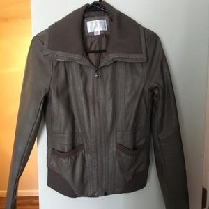 Mossimo leather jacket